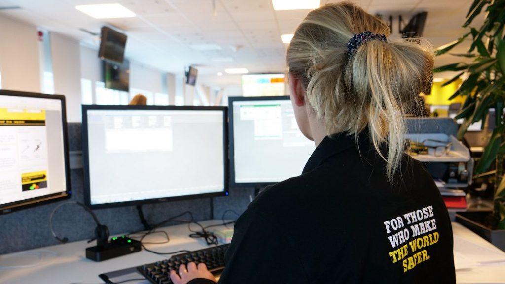 Digitalt lärande på Stanley Security Sverige.